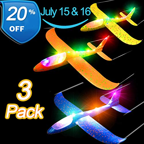 Airplane Toy for Kids,July 10-22th Deals 3 Pack 13.5
