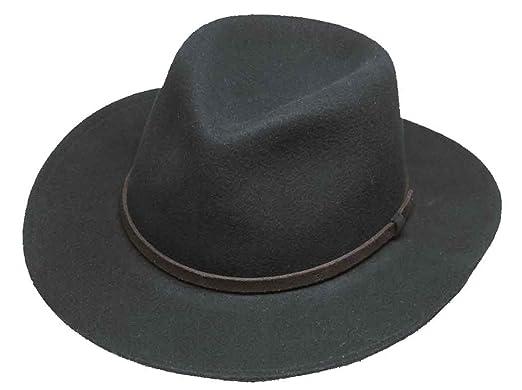 a377113e3632b Amazon.com  Broner Lite Felt Autumn Outback Hat  Clothing