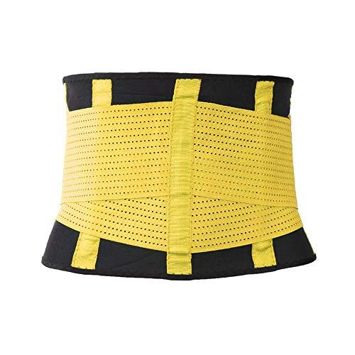 Trimmer Yellow Formatore Dimagrante Corpo Girovita Trainer Pancia Sostegno Cintura Regolabile YYQ XXXL Doppia Vita Cincher Donna wUq688