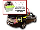 Marketing Holders Magnetic Outdoor Vehicle Business Card Holders Bright Yellow Qty 1