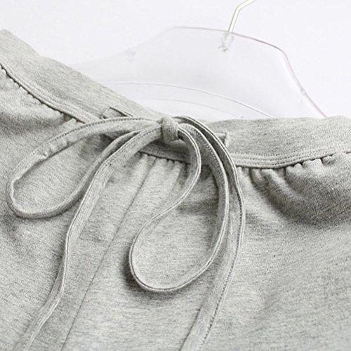 Zhhlaixing 2 Colors Sports Casual Sleep Pants Fashion Women's Cotton Trousers Pajamas Black