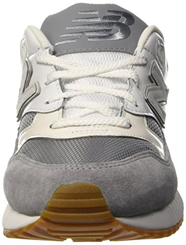 New Balance 530 Lifestyle Suede/Mesh, Zapatillas de Gimnasia para Hombre Bianco (White/Grey)