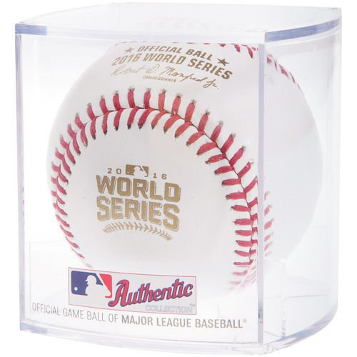 Rawlings Official 2016 World Series Leather MLB Baseball - WSBB16 - in factory sealed display (Official Mlb World Series)