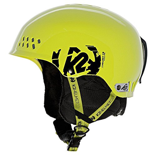 (K2 Phase Pro Ski Helmet, Lime, Small)