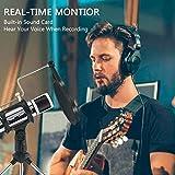 USB Microphone, ZealSound Metal Condenser Recording
