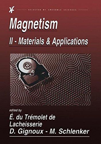 Magnetism: II-Materials and Applications ()
