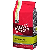 50 decaf coffee beans - Eight O'Clock Whole Bean Coffee, 50% Decaf, 36 Ounce
