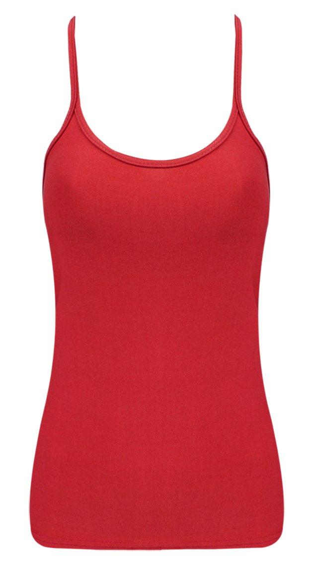 B&S Trendz Children Girls School Neon Coloured Party Wear Vest Top 5-12 Yrs