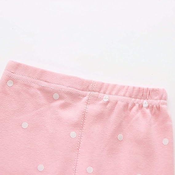 Miyanuby Kinder Kleinkind Baby M/ädchen Baumwolle Leggings Hosen Stretch Blume Lange Leggin Hose Strumpfhosen 1-9 Jahre