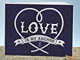 Love is my Anchor guest book