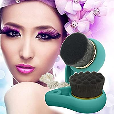 Soft Bamboo Charcoal Facial Cleansing Brush Face Washing Cleansers Deep Pore Female Skin Care Cleaning Tool