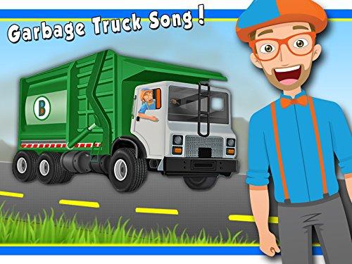 Garbage Truck Song by Blippi - Garbage Trucks for Kids