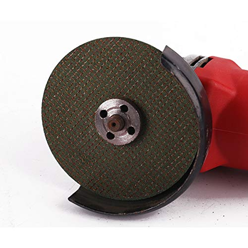 CHENTAOCS Angle Grinder Cutting Piece Resin Grinding Wheel Stainless Steel Metal Ultra-Thin Double Mesh Cutting Piece Color : Green, Size : 105161.2 mm 10 Per Pack