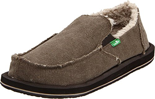 Sanuk Mens Vagabond Chill Slip-on (13 D (m) Oss, .brown.)
