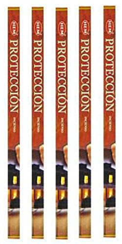 Protection Incense Sticks 5 Packs of 8 Sticks Each by Hem (Hem Protection Incense compare prices)