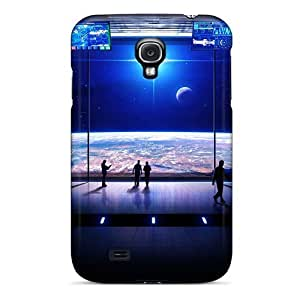 Defender Case With Nice Appearance (observation Deck) For Galaxy S4