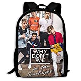 In The Limelight_Why_Don't_We Leisure Travel Backpack Purse Large Capacity Student College Laptop Bag Backpack For Men Women (16.9x11.0x6.3 Inch)