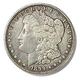 #10: 1899 O Morgan Silver Dollar $1 XF