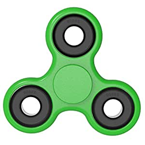 Fidget hand spinner toy Premium Bearing High Speed Perfect For ADD, ADHD, Anxiety, and Autism Adult Children (green)
