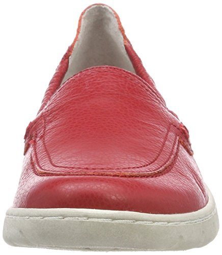 Josef Seibel Women's Steffi 57 Loafers, Red, 3 UK Red (Rot 400)