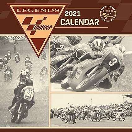 CALENDRIER 2021 MOTO DE COURSE GP   VINTAGE motard (sg) +offert un
