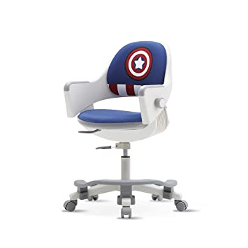 Surprising Sidiz Ringo Kids Home Study Desk Chair Sn509Acv With Dual Type Gas Lift 4 Level Back Adjustment Footrest Included Pu Leather Blue Marvel Pabps2019 Chair Design Images Pabps2019Com