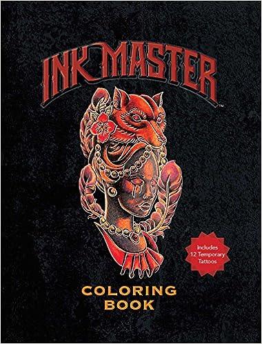 Ink Master Coloring Book: Amazon.es: Ink Master: Libros en idiomas extranjeros