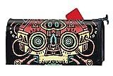 XPNiao Magnetic Garden Yard Mailbox Cover Skull Machine