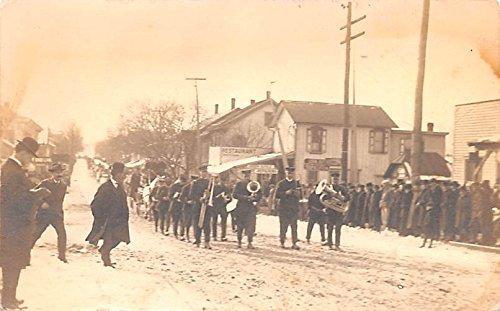 Parade Band (Band, Parade Unidentified Location , Pennsylvania postcard)