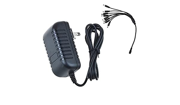 8-to-1 Power Cable Splitter AC Adapter For Lorex ACC-U81 ACCU81 Security Camera