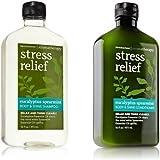 Bath & Body Works Eucalyptus Spearmint Body & Shine Shampoo & Conditioner Set