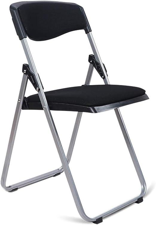 MECO Deluxe confort rembourré tissu chaise pliante en beige-se plie à plat