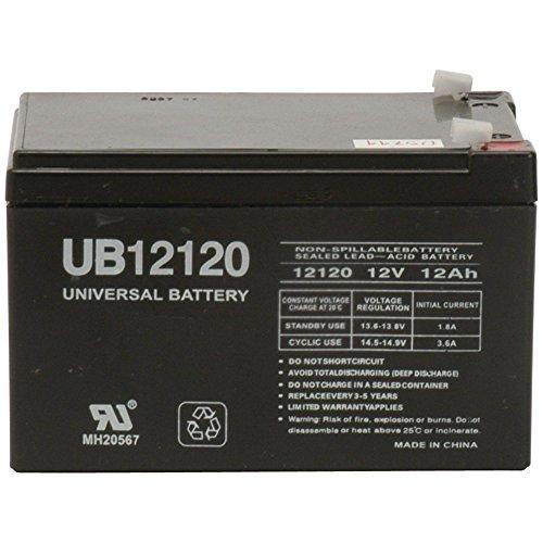 UB12120 12V 12AH SLA BATTERY 12 VOLT - F2 TERMINAL / 2 PACK [Electronics]