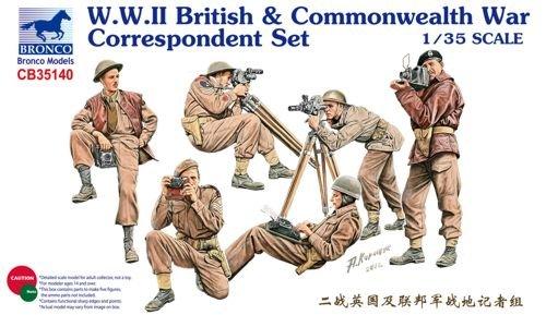 Bronco 1/35Figure Set CB35140WWII British and Commonwealth War Set