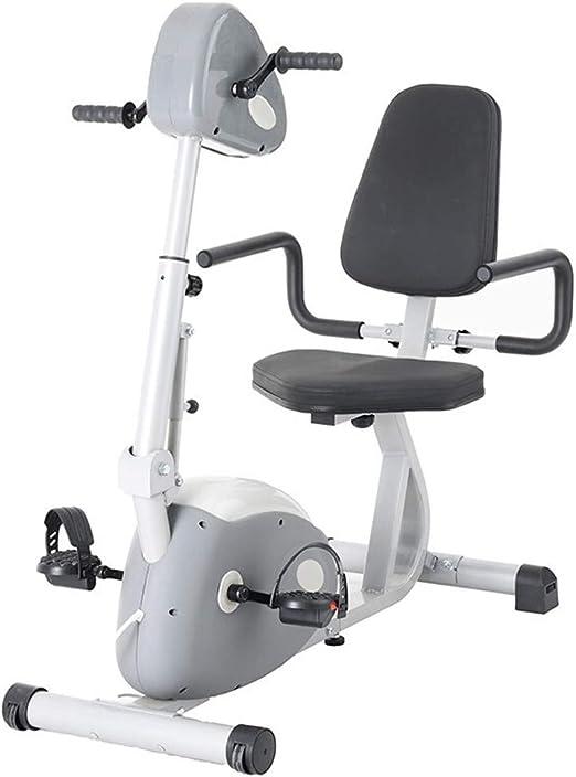 JFJL Bicicleta De Rehabilitación De Fisioterapia Electrónica para Personas Mayores Reclinadas Pedal De Interior Ejercitador Entrenamiento Mano Brazo Pie Pierna Rodilla Asistencia Pasiva: Amazon.es: Hogar