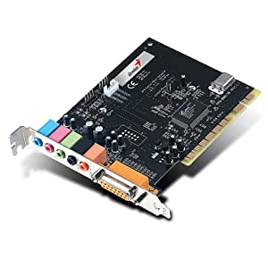 Genius Sound Maker Value 5.1 Interno 5.1channels PCI - Tarjeta de sonido (5.1 channels, 32 bit, 77 dB, PCI)