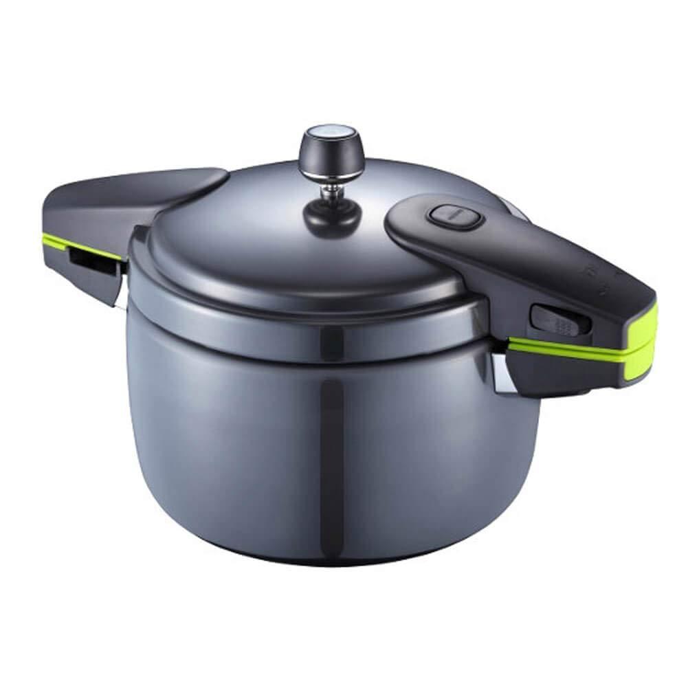 PN Poong Nyun BPNPC-04 Black Pearl Neo Pressure Cooker for 4 People, 2.5 Quart