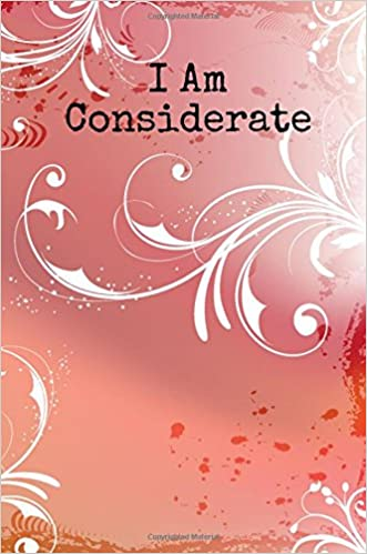 Descargar Mejortorrent I Am Considerate: A 6 X 9 Lined Journal De PDF A Epub