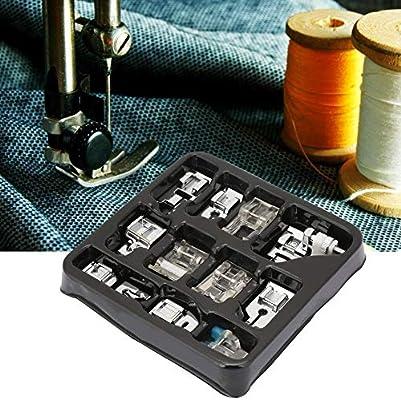 Prensatelas de costura prensatelas, 11 tipos/caja Máquina de coser ...