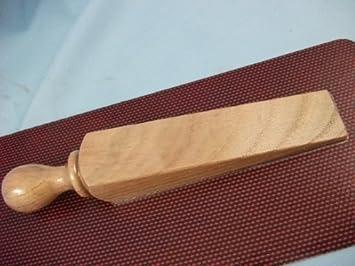 De madera, cojín con forma de cuña forma de tope para puerta ...