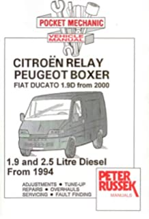 Marvelous Citroen C25 Fiat Ducato Talbot Express Diesel Td Workshop Repair Wiring 101 Capemaxxcnl