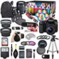 Canon Eos 80d Dslr Camera Deluxe Video Kit With Canon Ef S 18 55mm F 3 5 5 6 Is Stm Lens Rode Videomic Go Microphone Sandisk 32gb Sd Memory Card Accessory Bundle