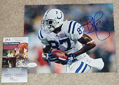 - Reggie Wayne Autographed Signed Memorabilia Sb Xli - Indianapolis Colts 8x10 Photo JSA COA Dd68198