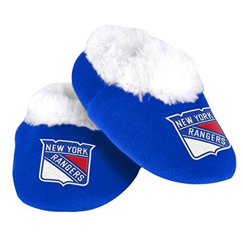 New York Rangers Logo Baby Bootie Slipper -