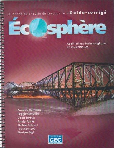 Ecosphere 2e annee du 2e cycle Applications Technologiques et Scientifiques