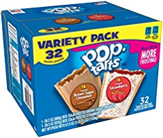 Kellogg's Pop-Tarts Frosted Toaster Pastries Variety Pack, Frost