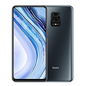 Xiaomi Redmi Note 9 Pro – Smartphone de 6.67″ (DotDisplay, 6 GB RAM, 128 GB ROM, 64 MP AI Quad cámara, batería de 502 0mAh) Interstellar Grey [Versión global]