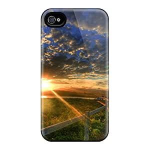 HwK15580wQEq DanLuneau Awesome Cases Covers Compatible With Iphone 6 - Sunset On A Scenic Walk