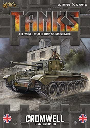 Tanks: British Cromwell Tank Expansion Board Game by Battlefront ...