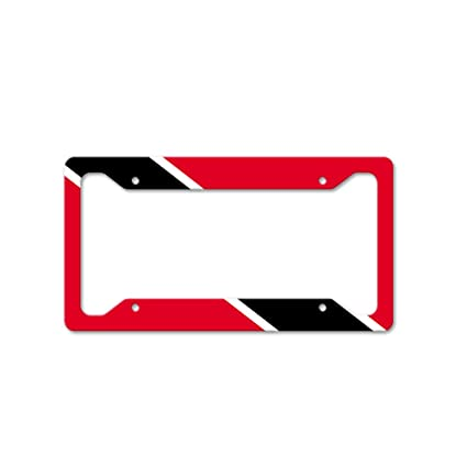 Style In Print Trinidad Tobago Auto Car License Plate Frame Tag Holder 4  Hole